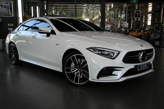 Used Mercedes-Benz CLS53 AMG Coupe 9G-Tronic PLUS 4MATIC+, North Melbourne, 2018 Mercedes-Benz CLS53 AMG Coupe 9G-Tronic PLUS 4MATIC+ Sedan