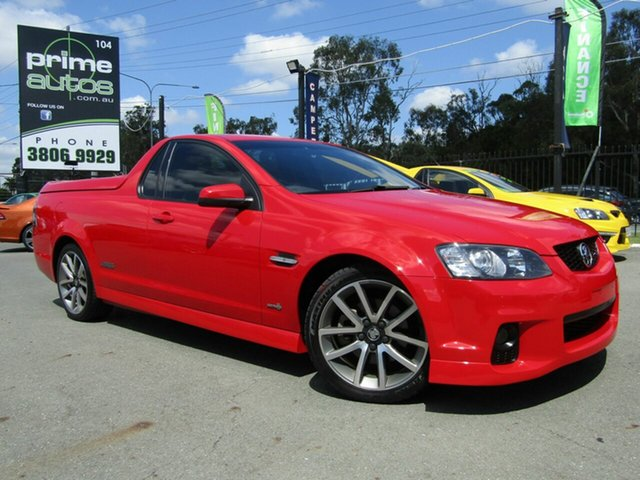 Used Holden Commodore SS-V, Underwood, 2011 Holden Commodore SS-V Utility