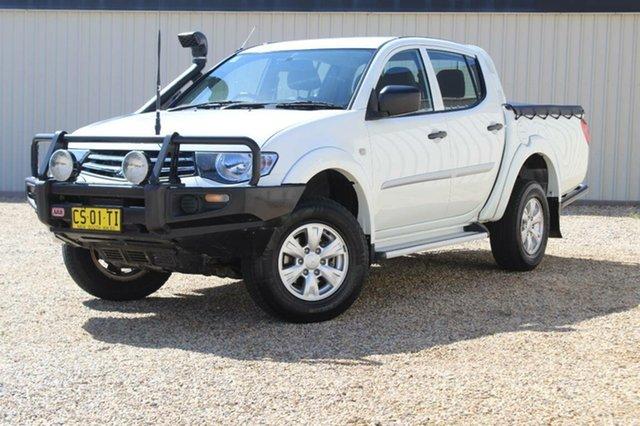 Used Mitsubishi Triton GLX (4x4), Southport, 2013 Mitsubishi Triton GLX (4x4) Double Cab Utility