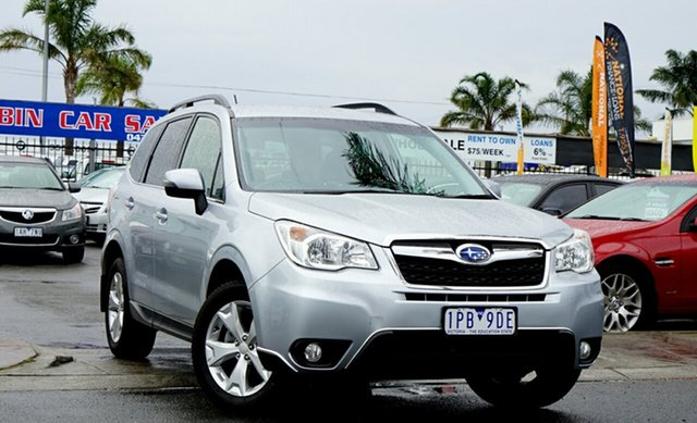 Used Subaru Forester 2.5i-L Lineartronic AWD, Cheltenham, 2014 Subaru Forester 2.5i-L Lineartronic AWD Wagon