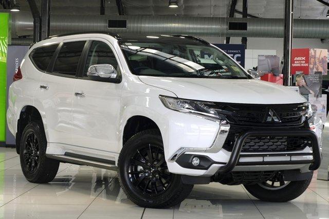 Demonstrator, Demo, Near New Mitsubishi Pajero Sport Black Edition, Bowen Hills, 2019 Mitsubishi Pajero Sport Black Edition Wagon