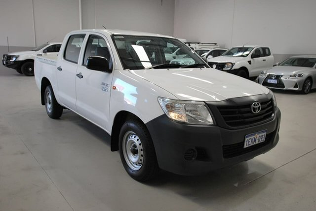 Used Toyota Hilux Workmate Double Cab 4x2, Kenwick, 2014 Toyota Hilux Workmate Double Cab 4x2 Utility
