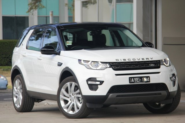 Demonstrator, Demo, Near New Land Rover Discovery Sport SD4 (177kW) SE 5 Seat, Port Melbourne, 2018 Land Rover Discovery Sport SD4 (177kW) SE 5 Seat Wagon