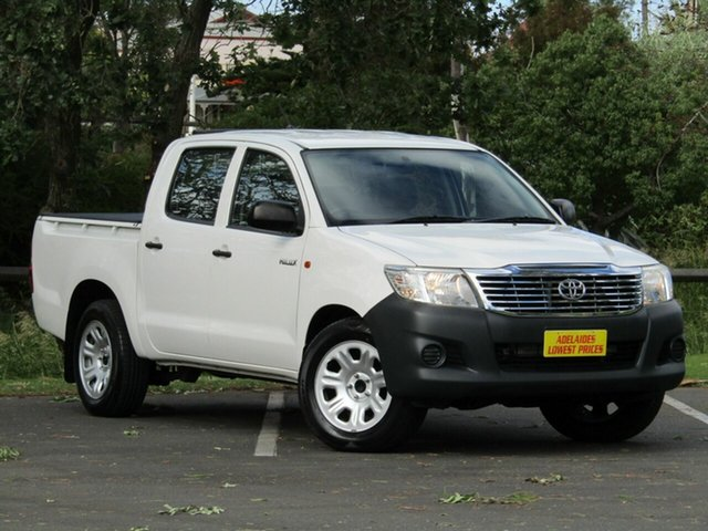 Used Toyota Hilux Workmate Double Cab, Enfield, 2013 Toyota Hilux Workmate Double Cab Dual Cab