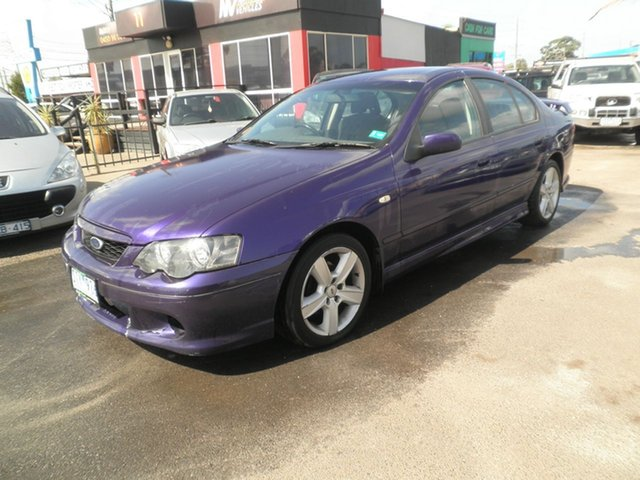 Used Ford Falcon XR6, Cheltenham, 2003 Ford Falcon XR6 Sedan