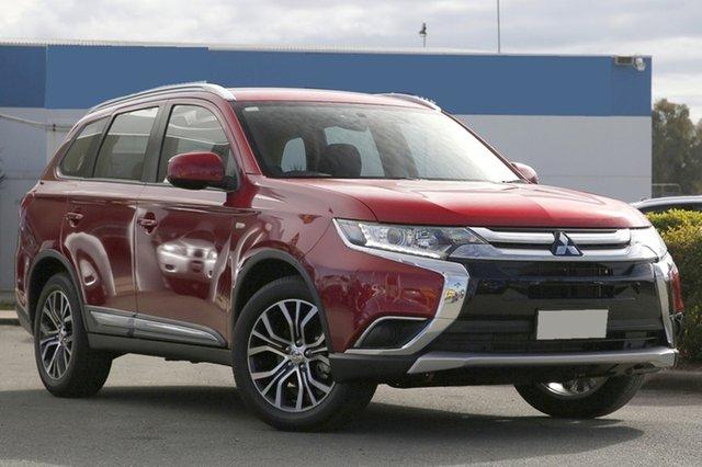 Used Mitsubishi Outlander ES 2WD, Bowen Hills, 2017 Mitsubishi Outlander ES 2WD Wagon
