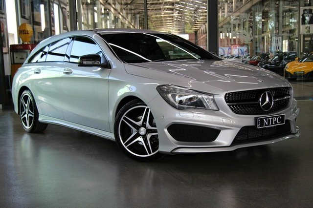 Used Mercedes-Benz CLA200 Shooting Brake DCT, North Melbourne, 2016 Mercedes-Benz CLA200 Shooting Brake DCT Wagon