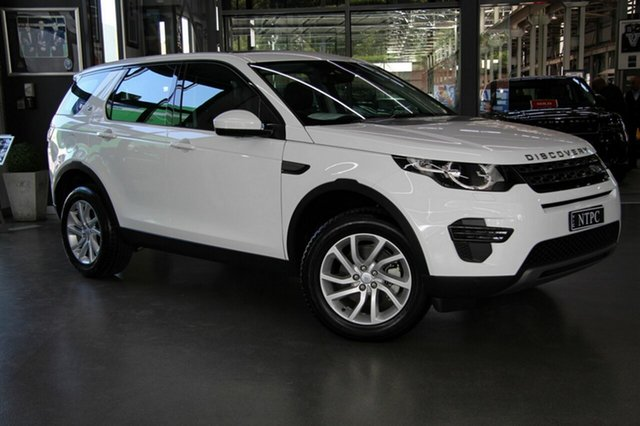 Used Land Rover Discovery Sport TD4 150 SE, North Melbourne, 2017 Land Rover Discovery Sport TD4 150 SE Wagon