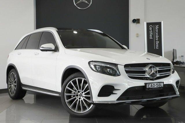 Used Mercedes-Benz GLC250 d 9G-Tronic 4MATIC, Narellan, 2017 Mercedes-Benz GLC250 d 9G-Tronic 4MATIC Wagon