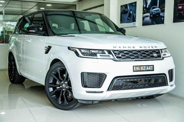 Demonstrator, Demo, Near New Land Rover Range Rover Sport SDV6 SE (183kW), Brookvale, 2018 Land Rover Range Rover Sport SDV6 SE (183kW) Wagon