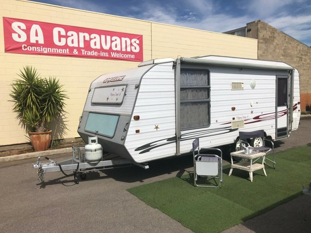 Used Spaceline ODYSSEY 20' with AIR CONDITIONING, Klemzig, 1998 Spaceline ODYSSEY 20' with AIR CONDITIONING Caravan