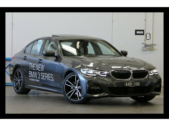 Demonstrator, Demo, Near New BMW 320d M Sport Steptronic, Clayton, 2018 BMW 320d M Sport Steptronic Sedan