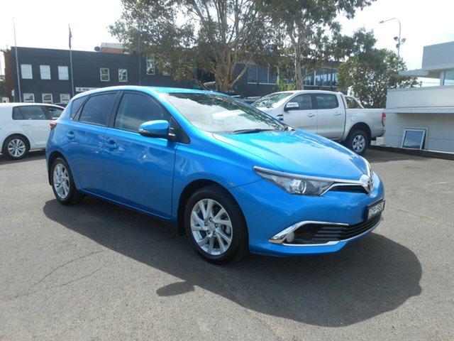 Used Toyota Corolla Ascent Sport S-CVT, Nowra, 2017 Toyota Corolla Ascent Sport S-CVT Hatchback