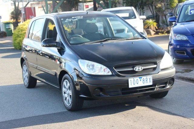 Used Hyundai Getz SX, Cheltenham, 2010 Hyundai Getz SX Hatchback