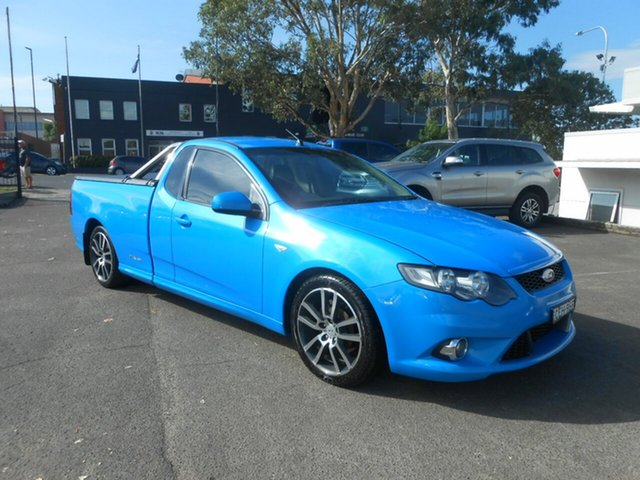 Used Ford Falcon XR6 Ute Super Cab Limited Edition, Nowra, 2011 Ford Falcon XR6 Ute Super Cab Limited Edition Utility