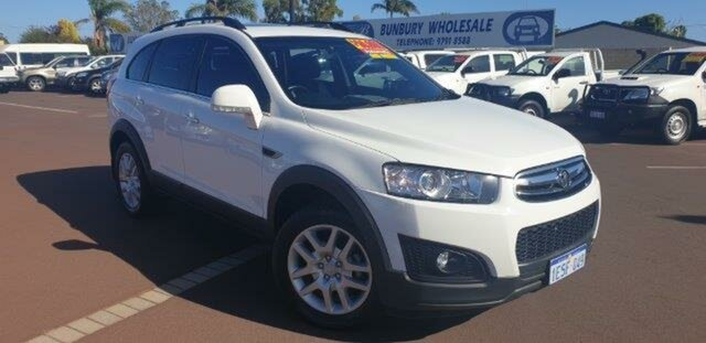 Discounted Used Holden Captiva 7 Active, East Bunbury, 2015 Holden Captiva 7 Active Wagon