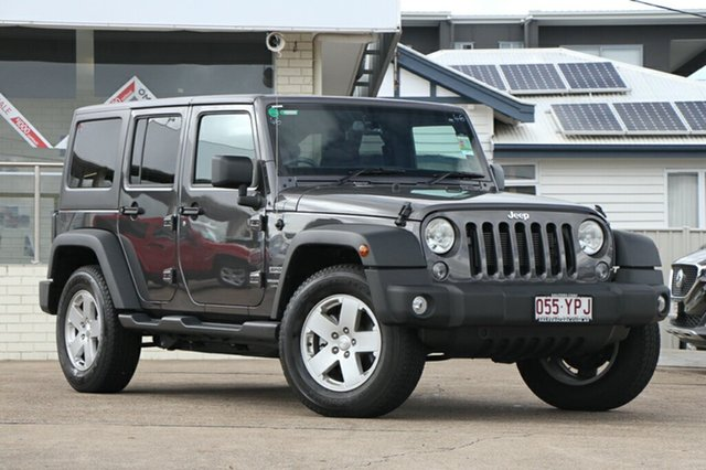Used Jeep Wrangler Unlimited Sport, Indooroopilly, 2018 Jeep Wrangler Unlimited Sport Softtop