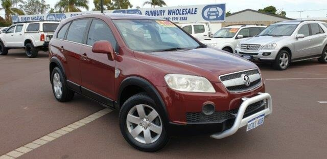 Discounted Used Holden Captiva CX AWD, East Bunbury, 2007 Holden Captiva CX AWD Wagon