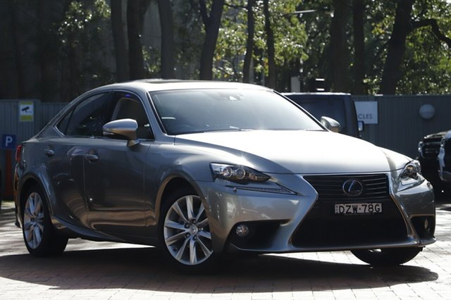 Used Lexus IS300H Luxury, Narellan, 2013 Lexus IS300H Luxury Sedan