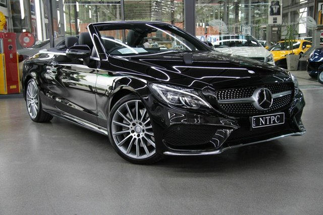 Used Mercedes-Benz C300 9G-Tronic, North Melbourne, 2016 Mercedes-Benz C300 9G-Tronic Cabriolet