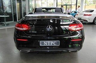 2016 Mercedes-Benz C300 9G-Tronic Cabriolet.