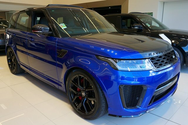 New Land Rover Range Rover Sport V8SC CommandShift, Phillip, 2019 Land Rover Range Rover Sport V8SC CommandShift Wagon
