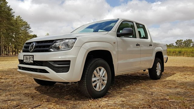 Demonstrator, Demo, Near New Volkswagen Amarok TDI420 4MOTION Perm Core, Tanunda, 2018 Volkswagen Amarok TDI420 4MOTION Perm Core Utility