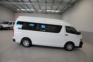 2010 Toyota HiAce Commuter High Roof Super LWB Bus.