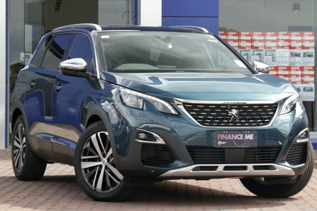 Discounted Demonstrator, Demo, Near New Peugeot 5008 GT, Warwick Farm, 2018 Peugeot 5008 GT SUV