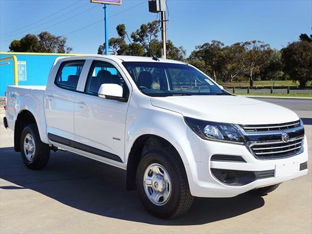 Demonstrator, Demo, Near New Holden Colorado LS Pickup Crew Cab, Berri, 2018 Holden Colorado LS Pickup Crew Cab Utility
