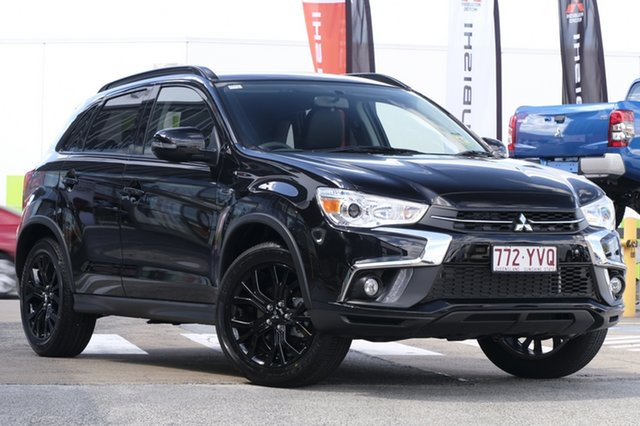 Demonstrator, Demo, Near New Mitsubishi ASX Black Edition 2WD, Bowen Hills, 2019 Mitsubishi ASX Black Edition 2WD Wagon