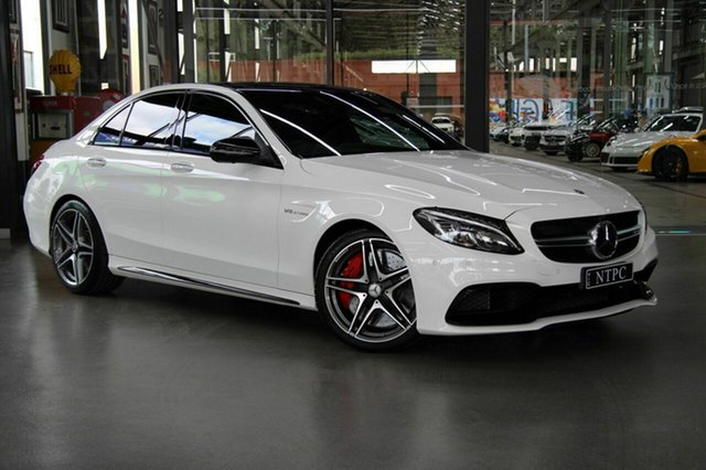 Used Mercedes-Benz C63 AMG SPEEDSHIFT MCT S, North Melbourne, 2018 Mercedes-Benz C63 AMG SPEEDSHIFT MCT S Sedan