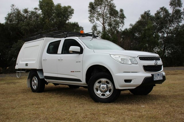 Used Holden Colorado LX Crew Cab, Officer, 2012 Holden Colorado LX Crew Cab Cab Chassis