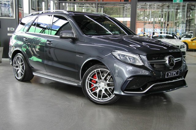 Used Mercedes-Benz GLE63 AMG SPEEDSHIFT PLUS 4MATIC S, North Melbourne, 2015 Mercedes-Benz GLE63 AMG SPEEDSHIFT PLUS 4MATIC S Wagon