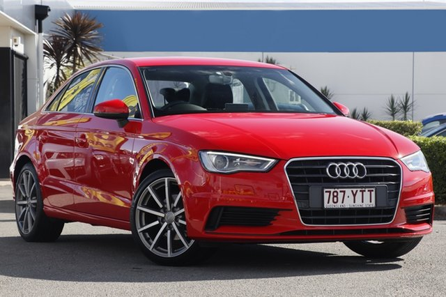Used Audi A3 Attraction S Tronic, Bowen Hills, 2016 Audi A3 Attraction S Tronic Sedan