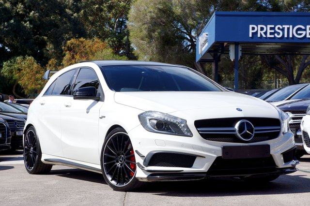 Used Mercedes-Benz A45 AMG SPEEDSHIFT DCT 4MATIC, Balwyn, 2013 Mercedes-Benz A45 AMG SPEEDSHIFT DCT 4MATIC Hatchback