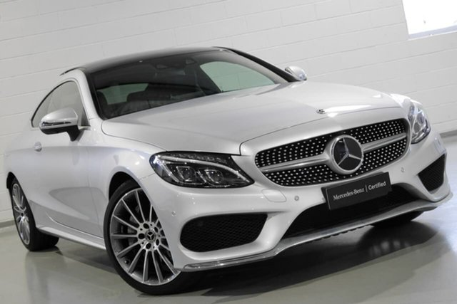 Used Mercedes-Benz C300 9G-Tronic, Chatswood, 2018 Mercedes-Benz C300 9G-Tronic Coupe