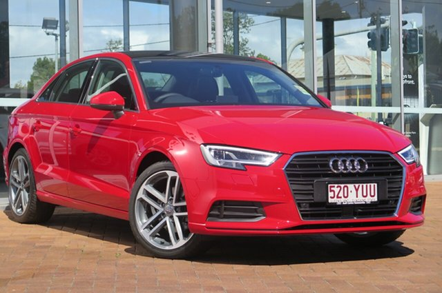 Demonstrator, Demo, Near New Audi A3 S Tronic, Toowoomba, 2018 Audi A3 S Tronic Sedan