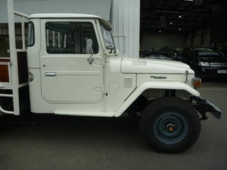 1984 Toyota Landcruiser LWB Utility.