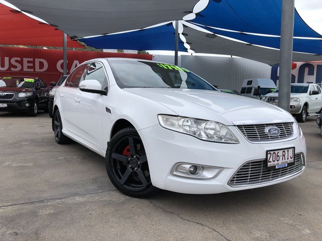 Used Ford Falcon G6E Turbo, Mundingburra, 2010 Ford Falcon G6E Turbo Sedan