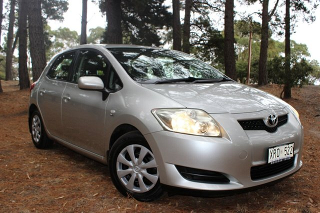 Discounted Used Toyota Corolla Ascent, Cheltenham, 2007 Toyota Corolla Ascent Hatchback