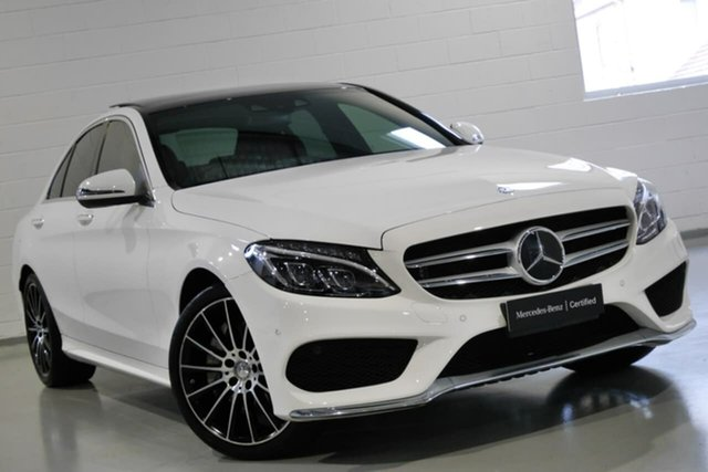 Used Mercedes-Benz C250 7G-Tronic +, Narellan, 2015 Mercedes-Benz C250 7G-Tronic + Sedan