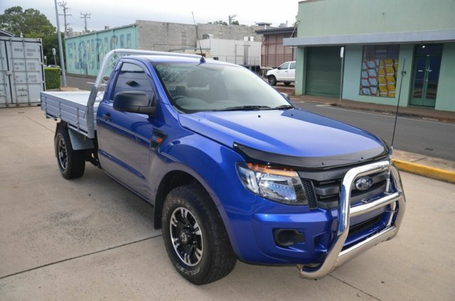 Used Ford Ranger XL 2.2 (4x2), Toowoomba, 2015 Ford Ranger XL 2.2 (4x2) Cab Chassis
