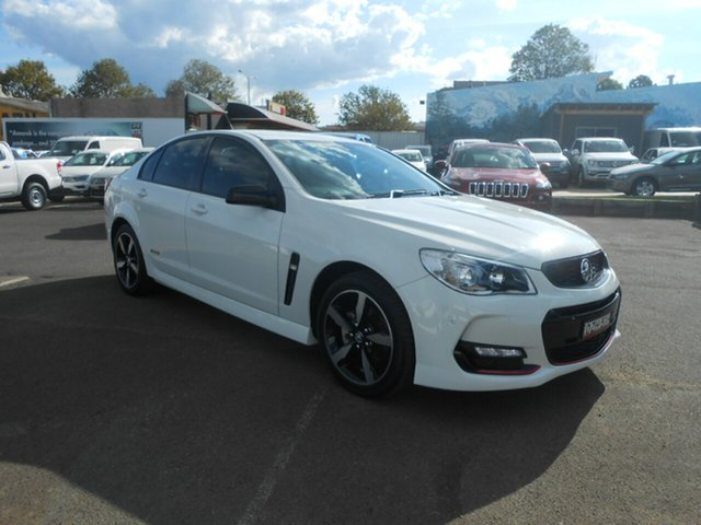 Used Holden Commodore SV6 Black, Nowra, 2016 Holden Commodore SV6 Black Sedan