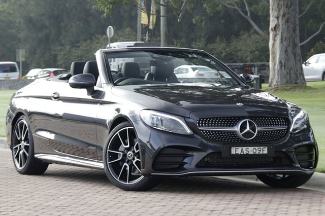 Discounted Demonstrator, Demo, Near New Mercedes-Benz C200 9G-Tronic, Narellan, 2018 Mercedes-Benz C200 9G-Tronic Cabriolet