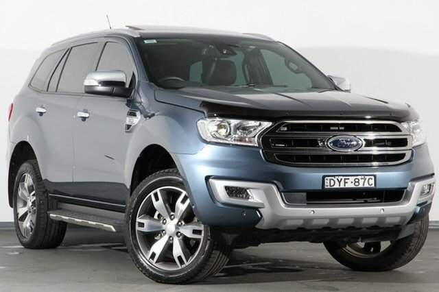 Used Ford Everest Trend 4WD, Campbelltown, 2018 Ford Everest Trend 4WD SUV
