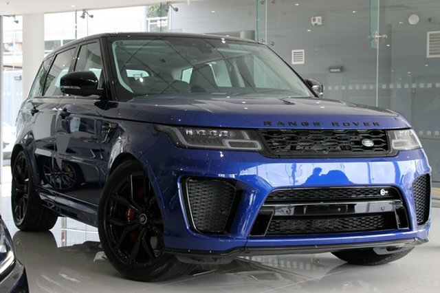 Discounted Land Rover Range Rover Sport V8 SC SVR (423kW), Concord, 2019 Land Rover Range Rover Sport V8 SC SVR (423kW) Wagon