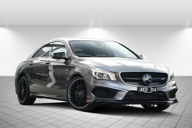 Used Mercedes-Benz CLA45 AMG SPEEDSHIFT DCT 4MATIC, Clayton, 2015 Mercedes-Benz CLA45 AMG SPEEDSHIFT DCT 4MATIC Coupe