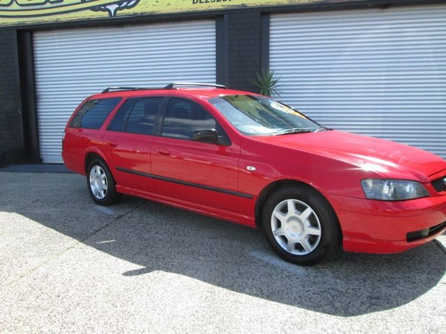 Used Ford Falcon XT, O'Connor, 2002 Ford Falcon XT Wagon