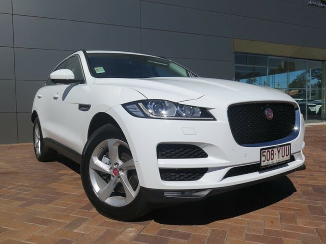 Discounted Demonstrator, Demo, Near New Jaguar F-PACE 30d AWD Prestige, Toowoomba, 2018 Jaguar F-PACE 30d AWD Prestige Wagon
